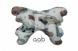 Motylek poduszka antywstrząsowa Samochody Retro (412981)