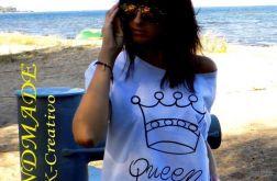 """t-shirt  """"QUEEN N 1 """""""