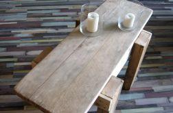 Stół ze starego drewna Loft Industrial