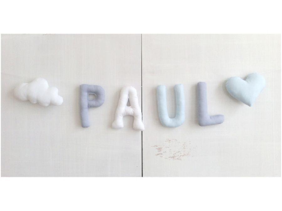 Literki bawelniane *PAUL*