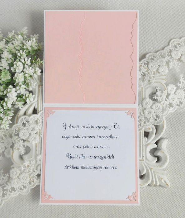 Kartka na Roczek w kopercie 09