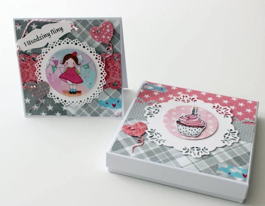 Kartka na urodziny (w pudełku) -