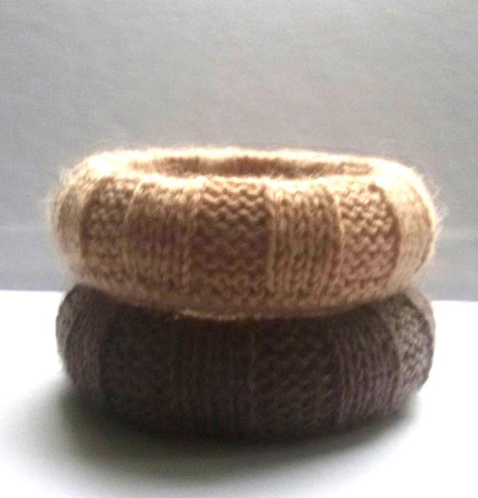Komplet swetrkowych bransoletek