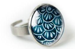 Haft pierścionek z ilustracją