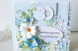 Kartka urodzinowa 30 lat. v.3
