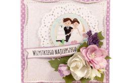 kartka ślubna #519