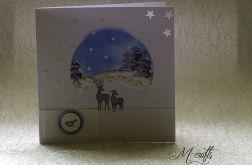 Zimowo...Kartka świąteczna
