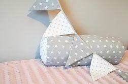 Poduszka wałek gwiazdki