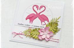 Ślubna z flamingami