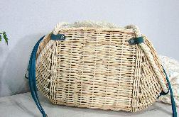 Torba-koszyk słomkowa
