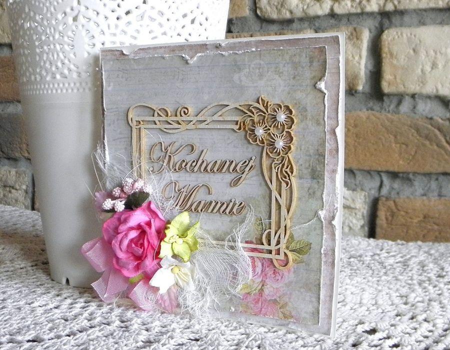 Kochanej Mamie - kartka 02