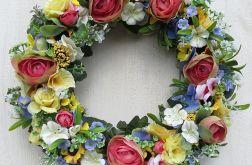 Wianek kwiatowy Kolory wiosny