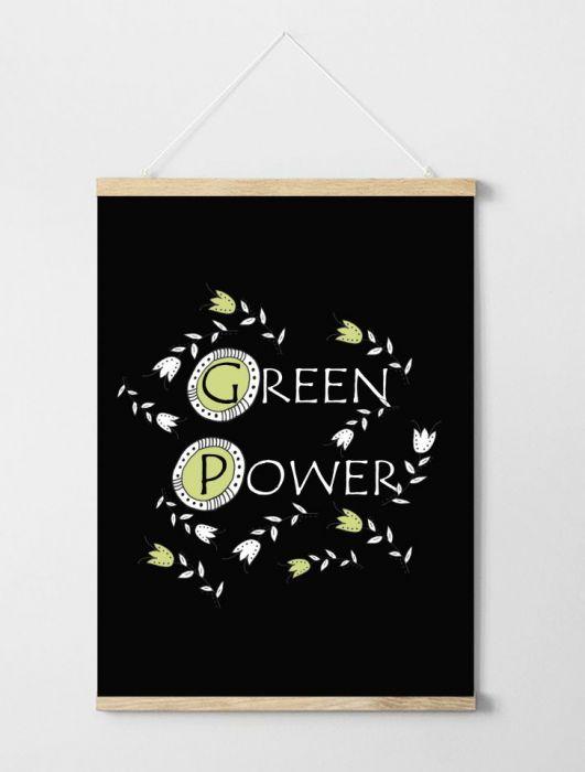 Plakat Green Power