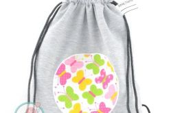Dresbag-wodoodporny worko-plecak motylki