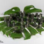 Metalowa bransoleta - skosy 171029-05 - Metalowe bransoletki