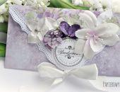 Kopertówka urodzinowa w fioletach