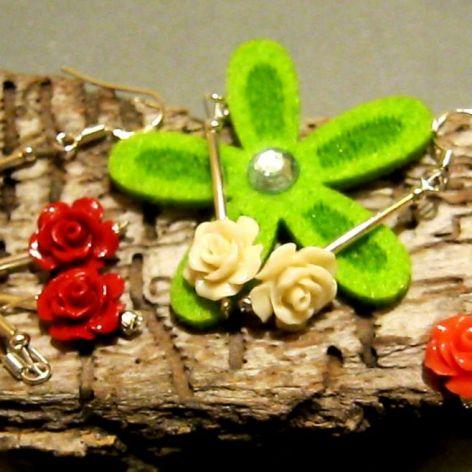 Róże z korala - 4 kolory do wyboru