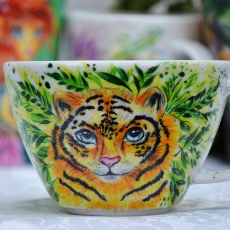 Kubek dla Twojego Tygryska z dedykacją