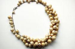 Vanilla - Naszyjnik z łańcuszka i szkła