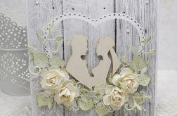 Wiejski ślub - komplet z pudełkiem 3