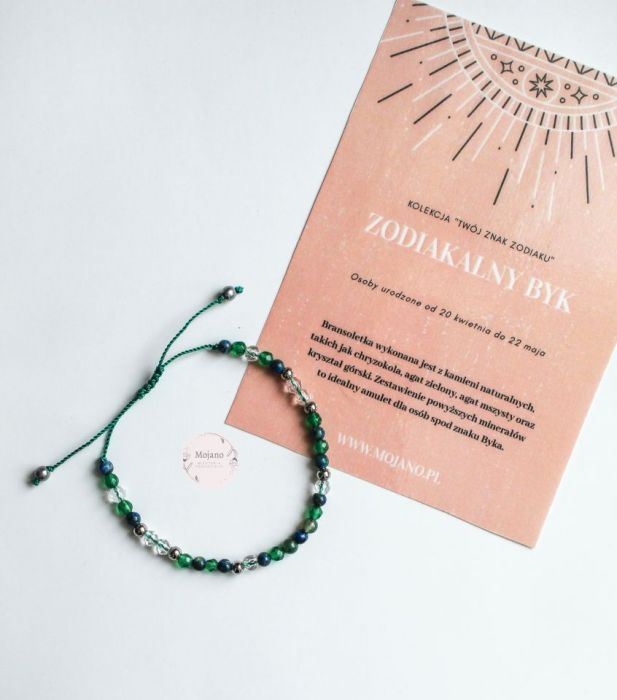 Bransoletka Byk II - Dzięki regulacji bransoletka będzie idealnym prezentem dla bliskiej osoby.