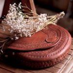 Skórzana, ręcznie robiona torebka Tzimol