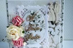 Ślubna elegancja z motylami