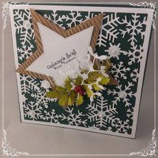 idą święta....kartka cała w śnieżkach01