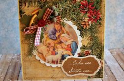 Kartka świąteczna  - Boża Rodzina 4