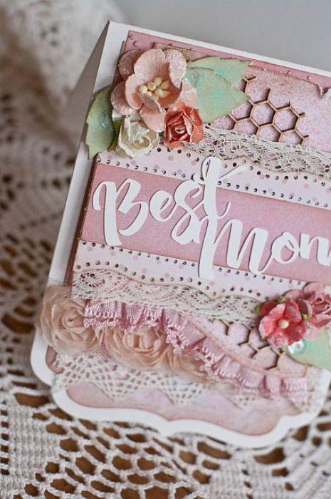 Romantyczna kartka - Dzień Matki