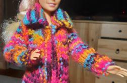 ubranko dla lalki barbie - płaszczyk