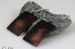 Prostokąty - miedziane kolczyki 151201-04