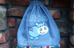 Worek dla dziecka - Hipopotam 1