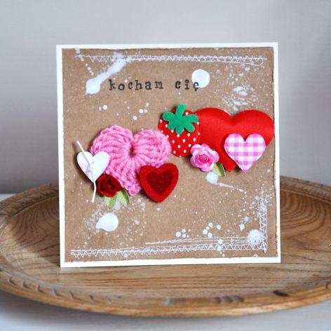 Walentynka - sznur serc 4