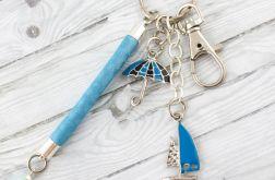 Brelok do kluczy lub torebki żaglówka