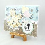 Kartka na roczek B2 - kartka urodzinowa