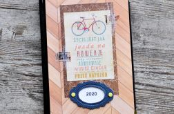 Kalendarz książkowy A5 układ dzienny 2020 #1
