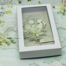 Kartka ślubna z młodą parą vol.2 w pudełku