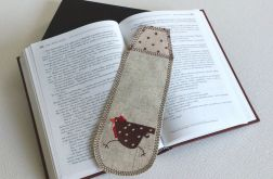 Zakładka do książki - Tildowa kura