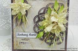 Dla Kochanej Mamy - kartka z pudełkiem