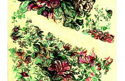 karta pocztowa - CHore kwiaty