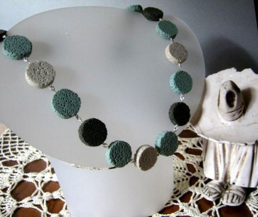 Lawa wulkaniczna - pastelowe pastylki