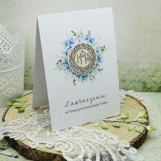 Zaproszenie na Komunię z grafiką ZKG 8