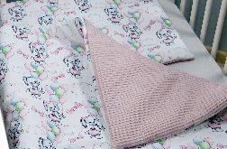 Pościel niemowlęca z wypełnieniem- bawełna premium