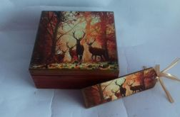 Pudełko i zakładka do książki
