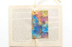 Vintage zakładka do książki z motylami