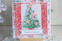 Kartka świąteczna Sweetest Christmas 2 GOTOWA