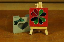 Walentynkowa kartka-magnes 8