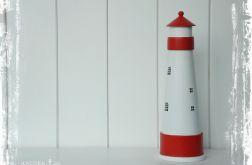 Latarnia morska - dekoracja marynistyczna (czerwona)