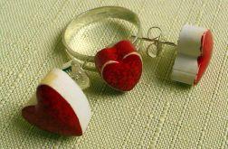 komplet biżuterii ceramiczny 2